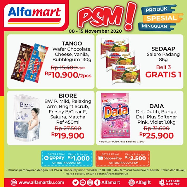 #Alfamart - #Promo Katalog Produk Special Mingguan Periode 08 - 15 November 2020