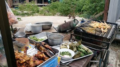バンコクの屋台飯