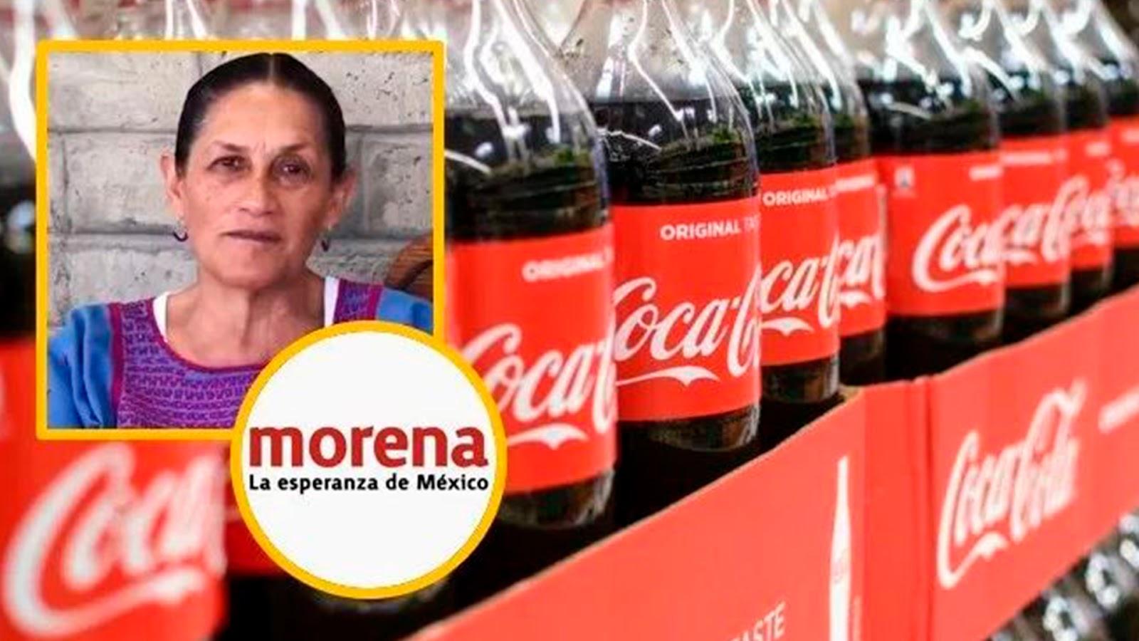 """""""La Coca-Cola tiene que se expulsada de México"""": exige senadora de Morena"""