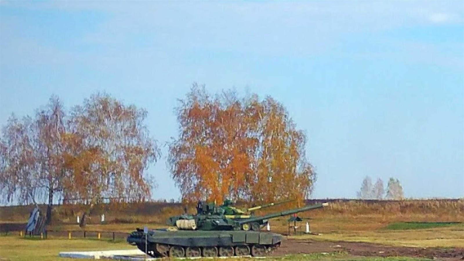 Tank T-90S pertama untuk Vietnam terlihat di tempat pembuktian Rusia