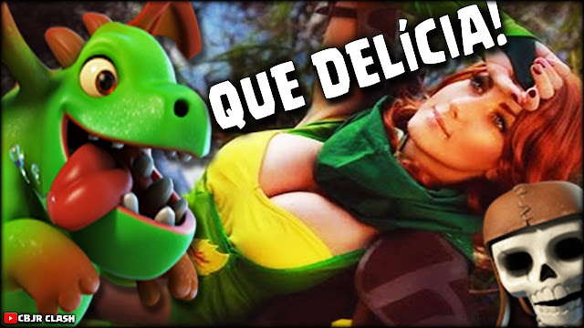 Clash of Clans e Clash Royale Cosplay