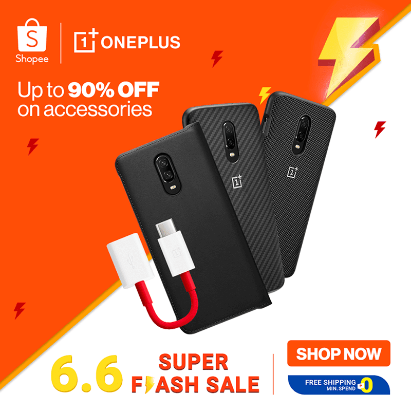OnePlus joins Shopee and Lazada's 6.6 sales