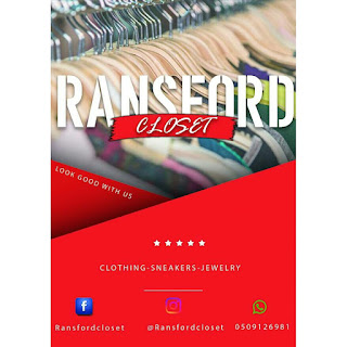 Link Up @ransfordcloset For all your FASHION Accessories 💯