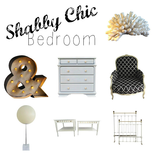 SHABBY CHIC - BEDROOM INSPIRATION  ~ The Styled Child