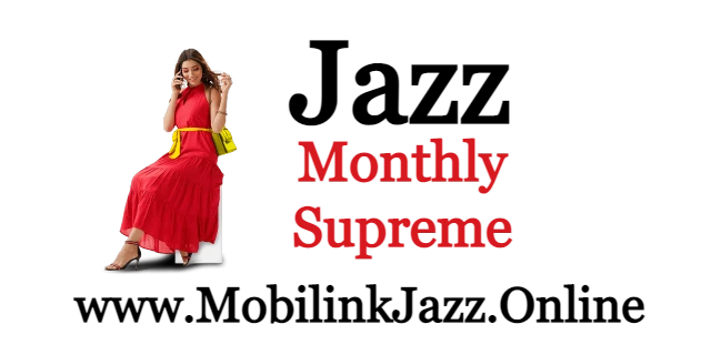 Jazz Monthly Supreme Internet Packages | Jazz Packages