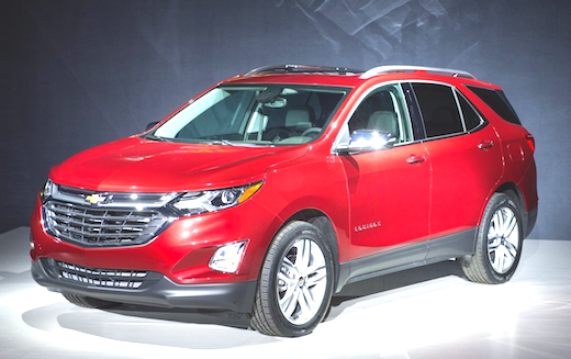 2018 Chevrolet Equinox AWD MPG