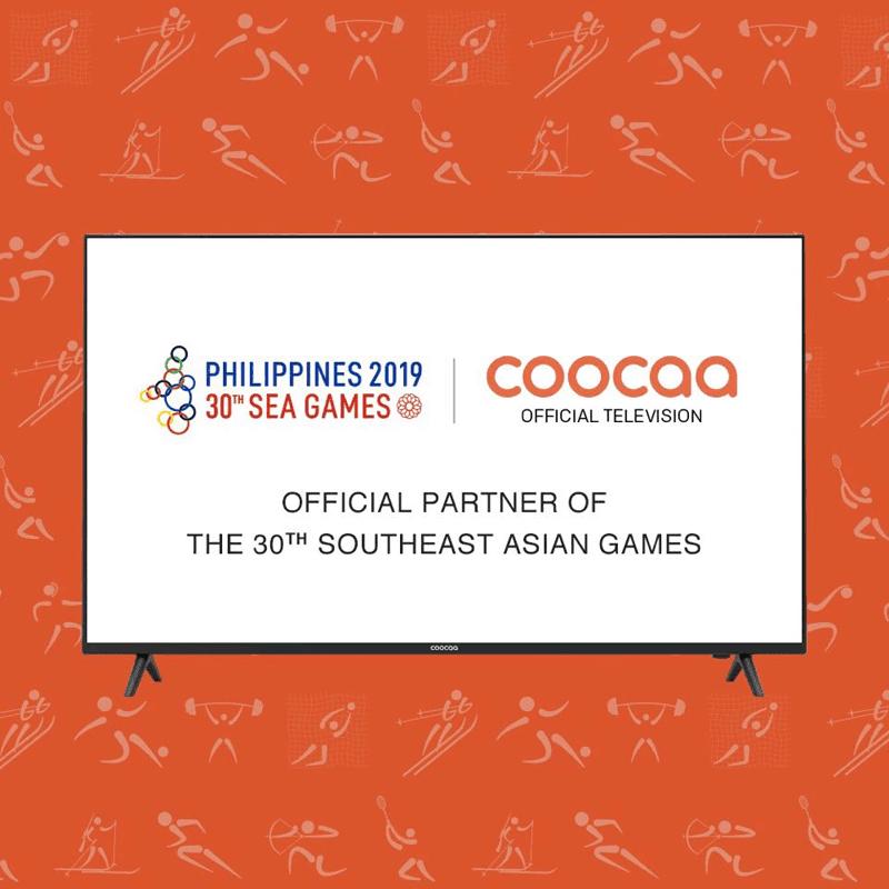 coocaa as a partner of 2019 SEA Games