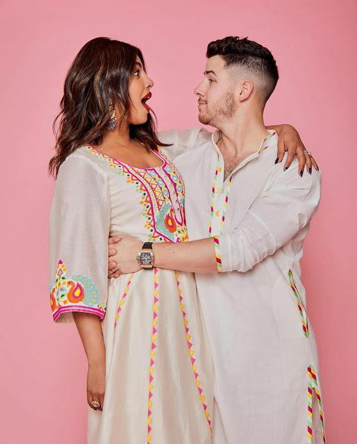 Priyanka Chopra Nick Jonas HD Wallpaper 2020