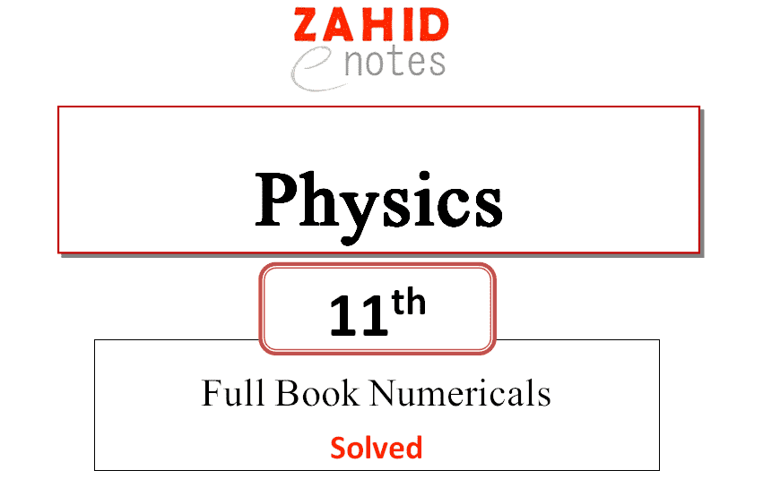 Class 11 Physics solved numericals pdf download