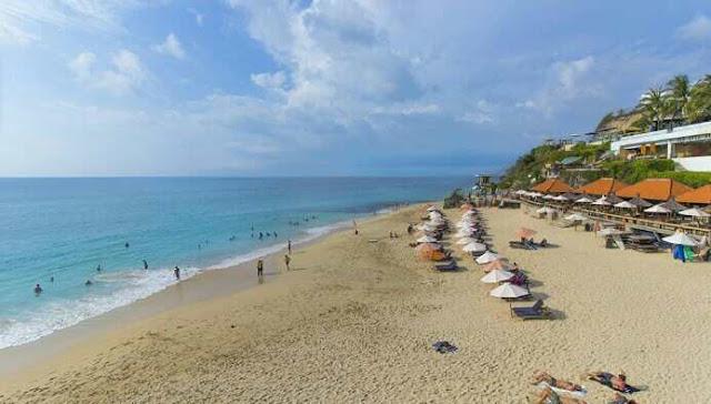 Wisata nusa dua bali dreamland beach