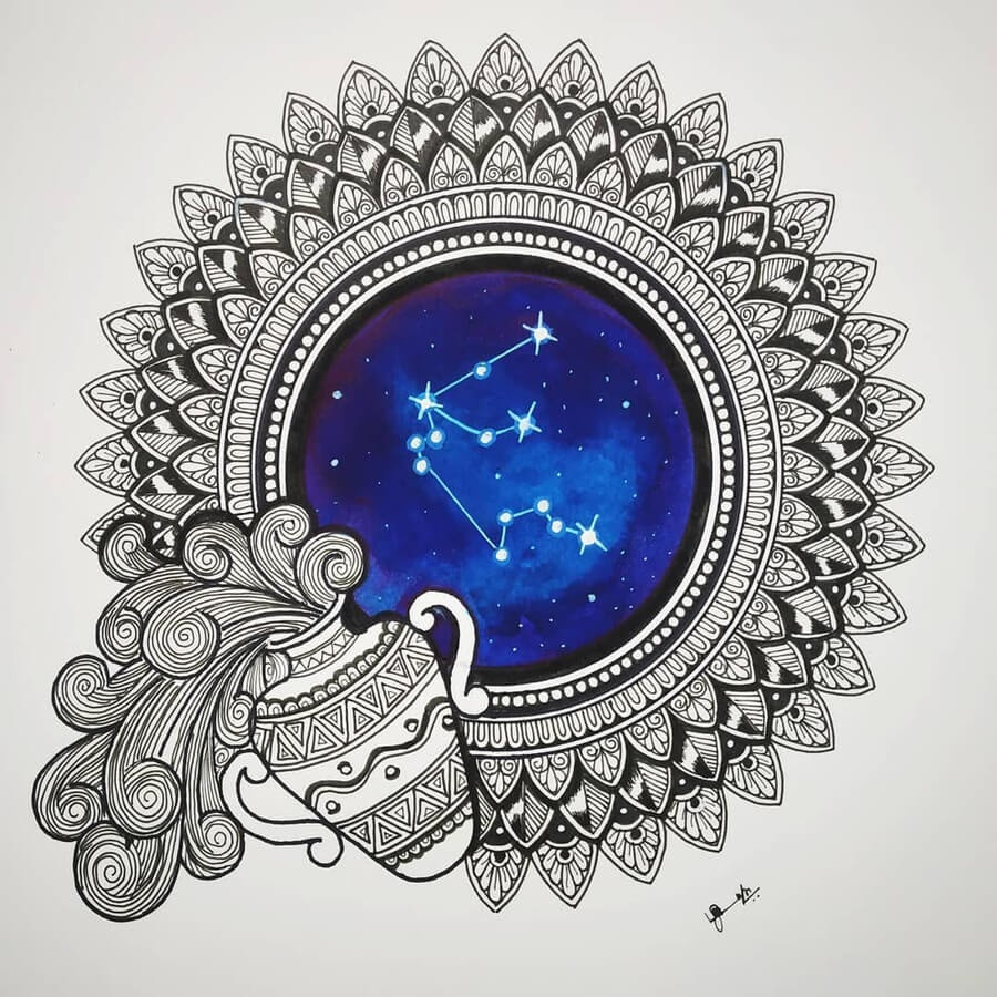 11-Zodiac-sign-Aquarius-Madhusuja-www-designstack-co