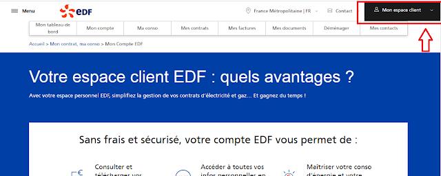 edf espace client