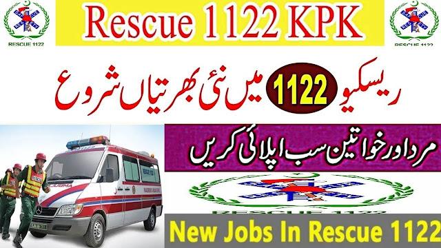 KPK Rescue 1122 Jobs 2020 Download rescue1122 Form