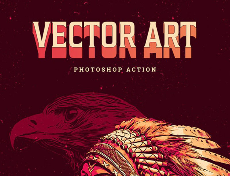 Vector Art Photoshop Action 26565264