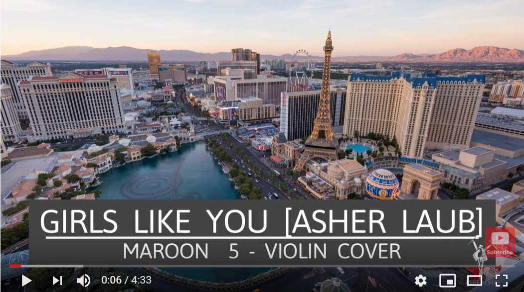 Asher Laub Drops Soulful Violin Cover Of Maroon 5 S Girls Like You