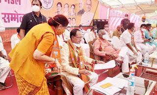 मुख्यमंत्री ने पूर्व मंत्री श्रीमती चिटनिस की मांग स्वीकार की नेपानगर की दशकों पुरानी समस्या का होगा निराकरण