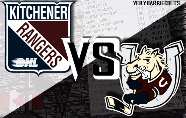 Game Preview: Kitchener Rangers VS Barrie Colts on Sportsnet. #OHL