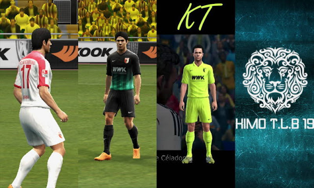 PES 2013 Augsburg Kit Season 2016-2017