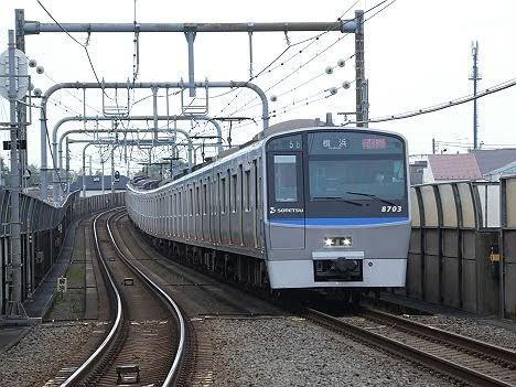 【ダイヤ改正で新設!】相鉄8000系 通勤特急 横浜行き