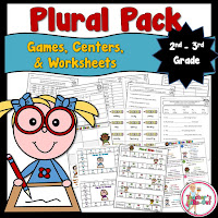 Plural Pack for 2nd and 3rd graders