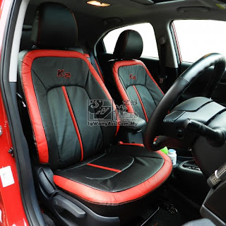 Kia Rio K2 Leather PVC Seat Cover