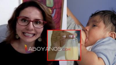 """""""Dar leche materna es de países subdesarrollados"""", periodista colombiana"""