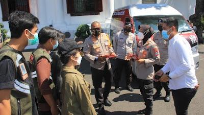 Inovasi Polrestabes Surabaya, Luncurkan Mobil Vaksin Presisi Keliling