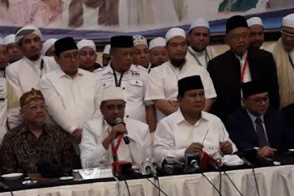 Hasil Ijtima Ulama II Resmi Dukung Prabowo-Sandiaga di Pilpres 2019