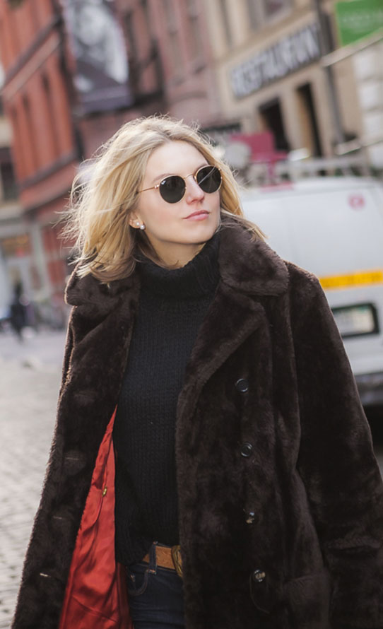 Street Style With Ray-Ban Sunglasses #rayban #sunglasses