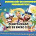 DOSIFICACIÓN DE CONTENIDOS QUINTO GRADO, ENERO 2020.