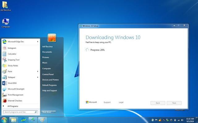 كيفية ترقية ويندوز 7/8/8.1 إلى نظام التشغيل ويندوز 10 مجانا