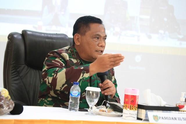 Pangdam III/Siliwangi : Siapkan Prajurit Untuk Bantu Pemda Dalam Penerapan Dan Pemberlakuan PPKM