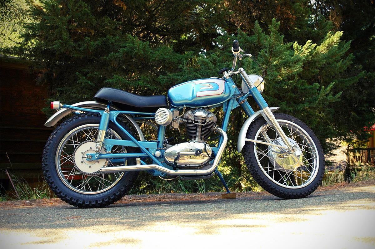 Free The Wheels 1963 Ducati 250 Scrambler
