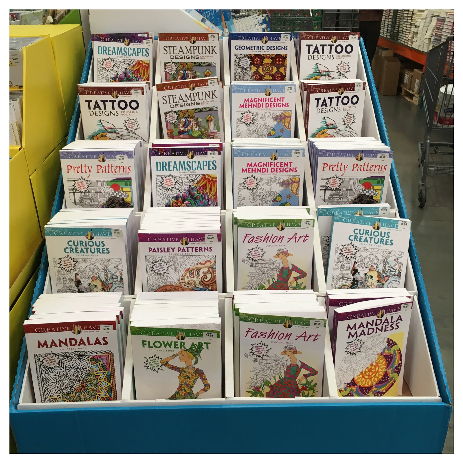 The Color Me Your Way Coloring Book Series From PJC Smart Have Large 16 X 11 Oversized Pages