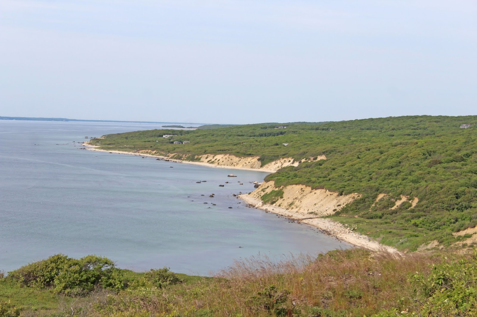 hiking to a secluded beach 4