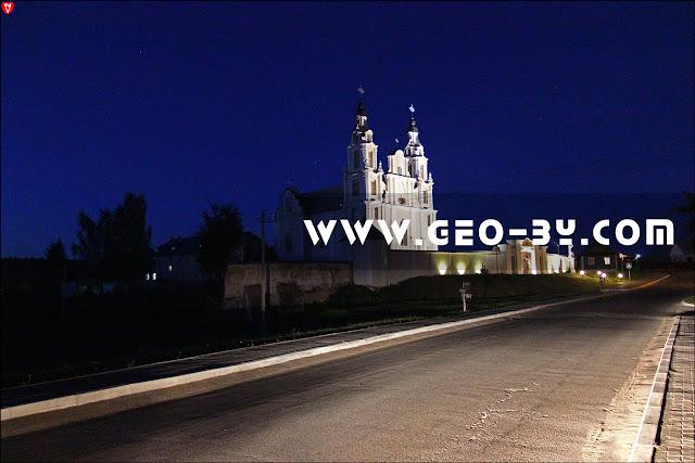 Iwieniec. Kościół Św. Michała Archanioła i klasztor Franciszkanów