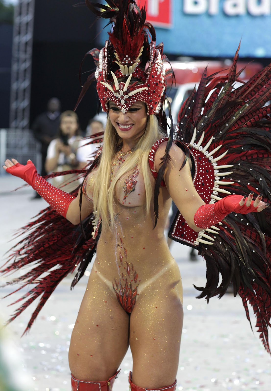 Remarkable, very Rio carnival nude naked