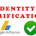 How to verify personal identity in Google Adsense
