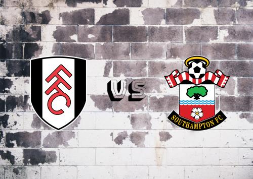 Fulham vs Southampton  Resumen