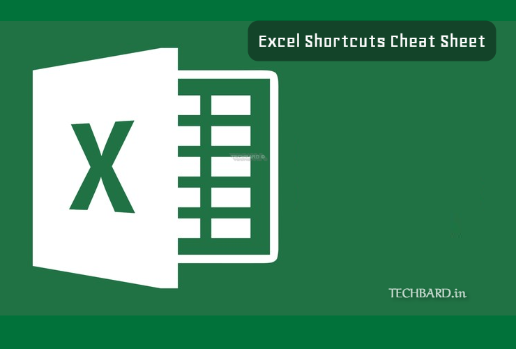 Excel Shortcuts Cheat Sheet