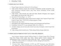 Lowongan Kerja Satpol PP Kota Bogor