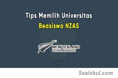 Tips Menentukan Universitas Terbaik Untuk Beasiswa NZAS