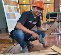 tukang pasang lantai kayu