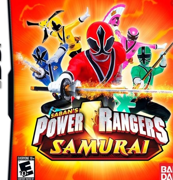 Power Rangers Samurai NDS