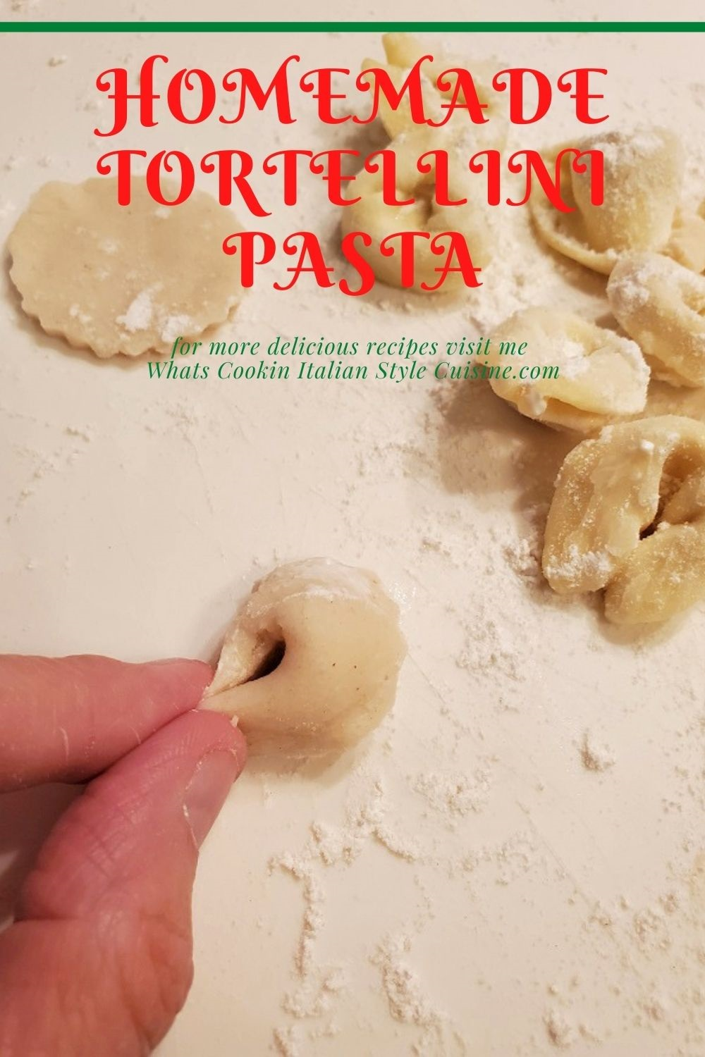 this is a pin for later homemade tortellini pasta
