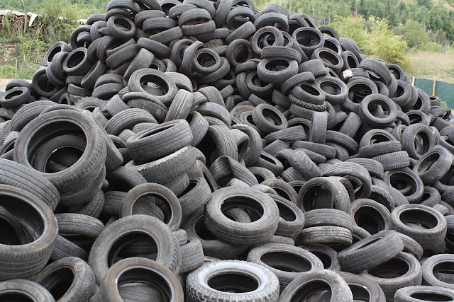 copertoni usati-rifiuti speciali-smaltimento rifiuti