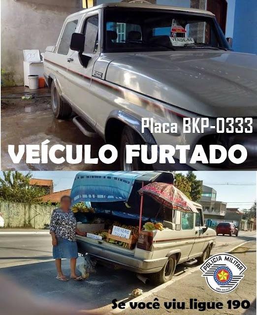 POLÍCIA MILITAR PROCURA VEÍCULO FURTADO