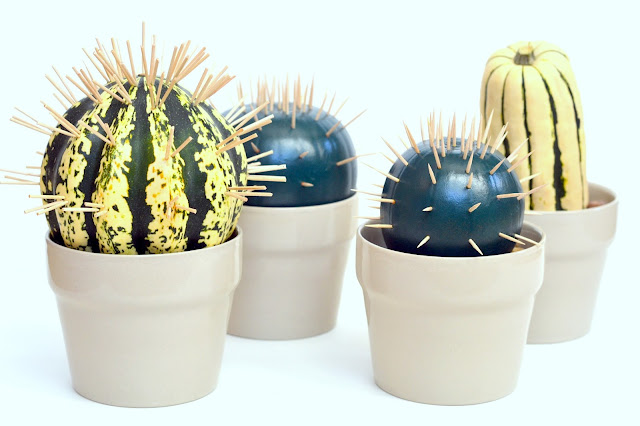 Halloween, cacti, handmade, fall,