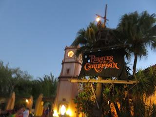 Pirates of the Caribbean Magic Kingdom Entrance