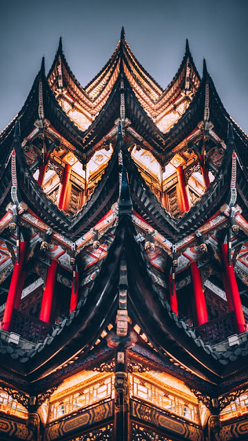 Pagoda, Temple, Architecture, Building